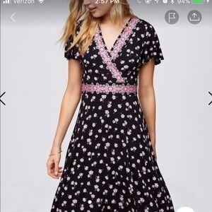 NWOT Loft flower dress - 4P